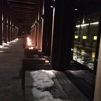 Photo taken at The Spa at The Chedi by Julia Z. on 12/7/2015