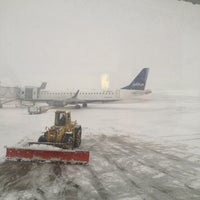 Photo taken at Syracuse Hancock International Airport (SYR) by Mark M. on 12/22/2012
