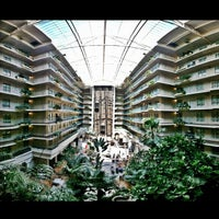 Photo taken at Embassy Suites by Hilton San Francisco Airport Waterfront by DJ MoJoe (. on 6/14/2013