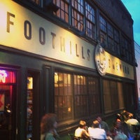 Photo taken at Foothills Brewing by Carlos G. on 3/16/2013