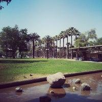 Photo taken at Parque Inés de Suárez by Francisco E. on 11/14/2012