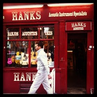 Photo taken at Hank's Guitar Shop by Brigid H. on 5/10/2013