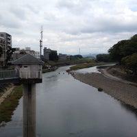 Photo taken at 船小屋温泉大橋 by katsuhisa y. on 11/9/2014