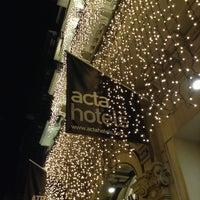 Photo taken at Hotel Acta Atrium Palace by Tema C. on 1/5/2013