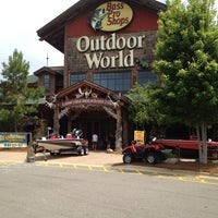 Photo taken at Bass Pro Shops by Judge C. on 5/20/2013