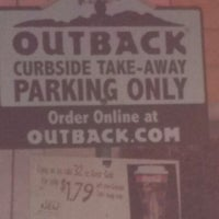 Photo taken at Outback Steakhouse by 2ND 2 NONE B. on 2/25/2013