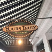 Photo taken at Yours Truly Restaurant by Alex M. on 5/13/2016