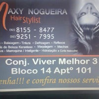 Photo taken at maxy nogueira hair stylist by Maxy N. on 2/26/2014