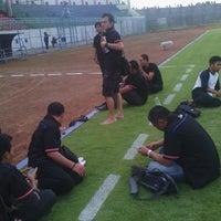 Photo taken at Stadion Gelora Bangkalan by Doddy G. on 4/23/2014