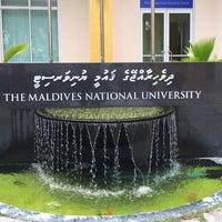 Photo taken at Maldives National University by Zi D. on 11/17/2014