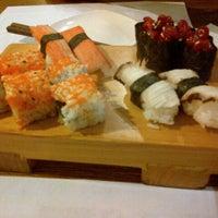 Photo taken at Hatsu Tei Teppanyaki & Sushi by Vincensa A. on 11/16/2013