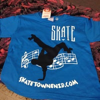 Photo taken at Skatetown by Amber H. on 8/31/2014
