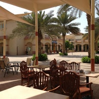 Photo taken at Knowledge Village قرية المعرفة by Omar B. on 5/5/2013