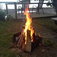 Photo taken at Searsport Shores Ocean Campground by Hayley A. on 6/18/2014