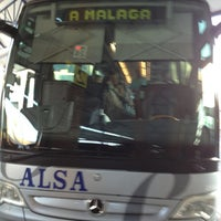 Photo taken at Estación de Autobuses de Málaga by Farmacia E. on 7/6/2013