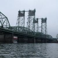 Photo taken at Interstate Bridge by Frank S. on 4/3/2013