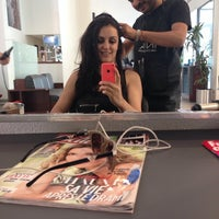 Photo taken at First Coiffure by Duygu Z. on 5/27/2014