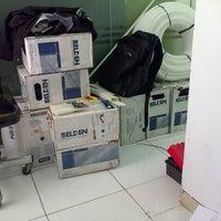 Photo taken at PT. LEN Industri (Persero) by Dhio Echa S. on 5/21/2014