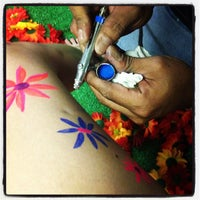 Photo taken at Skin City Body Painting by Chanele W. on 6/8/2013