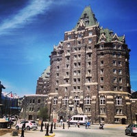 Photo taken at The Fairmont Banff Springs Hotel by Laura B. on 5/11/2013