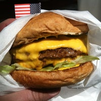 Photo taken at Bubba's Texas Burger Shack by Michael F. on 4/12/2013