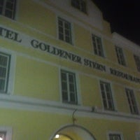 Photo taken at Hotel Goldener Stern by Rod B. on 3/26/2013