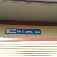 Photo taken at McComb Amtrak Station by Pam E. on 12/8/2012