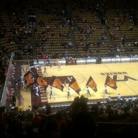 Photo taken at Cassell Coliseum by Lily Y. on 12/15/2012