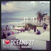 Photo taken at Oceans27 Beach Club & Grill by agus a. on 2/15/2013