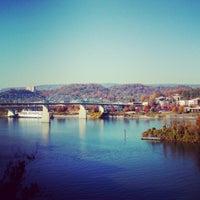 Photo taken at Bluff View Art District by 1680PR on 11/11/2012