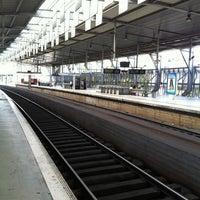 Photo taken at Estação Ferroviária de Entrecampos by Carlos P. on 10/6/2012
