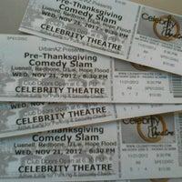 Photo taken at Celebrity Theatre by Nichelle R. on 11/20/2012