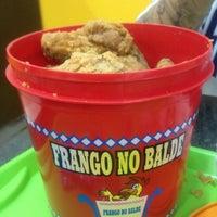 Photo taken at Frango no Balde by Gabriel P. on 12/22/2012