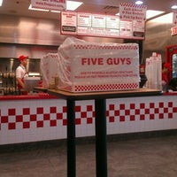 Photo taken at Five Guys by Devin M. on 10/16/2012