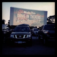 Photo taken at Wellfleet Drive-in and Cinemas by Chris E. on 7/6/2013
