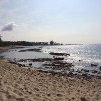 Photo taken at Kukio Beach @ Four Seasons by Ian F. on 2/8/2014