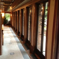 Photo taken at Frank Lloyd Wright Robie House by Jim K. on 10/5/2012