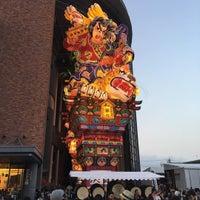 Photo taken at 立佞武多の館 by ikoana on 8/6/2016