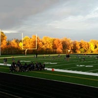 Photo taken at Guilford Stadium by Ricky J. on 10/3/2012