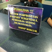 Photo taken at Immigration Department Malaysia by Shafiq S. on 7/28/2016