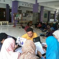 Photo taken at Gedung D FKIP UNS by Nawasasi M. on 5/15/2014