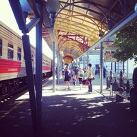 Photo taken at Ж/д вокзал Чебоксары by Julia K. on 7/14/2013