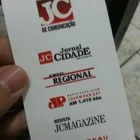 Photo taken at Jornal Cidade de Rio Claro by Karina Zilah Da F. on 7/30/2013