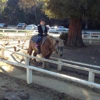 Photo taken at Griffith Park Pony Rides by Oscar K. on 12/27/2012