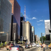 Photo taken at Paulista Avenue by Bruno N. on 7/13/2013