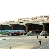 Photo taken at King Khalid International Airport (RUH) by Abeer .. on 4/4/2013