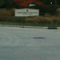 Photo taken at Lake Forest College by Vanessa F. on 10/5/2012