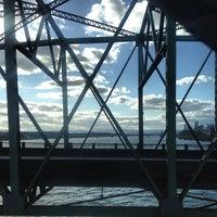 Photo taken at Interstate Bridge by Jesse W. on 4/30/2013