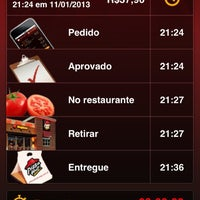 Photo taken at Pizza Hut Delivery by Luis Henrique M. on 1/12/2013