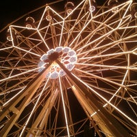 Photo taken at Giant Wheel by Karina C. on 12/8/2012